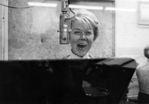 Doris Day at a recording sessioncirca 1950s© 1978 Bob Willoughby - Image 0025_2588
