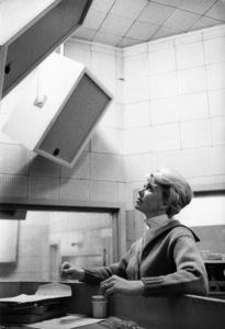 Doris Day at a recording sessioncirca 1950s© 1978 Bob Willoughby - Image 0025_2589