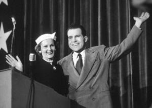 Richard and Pat Nixonon the Campaign Trail1953 © 1978 Jason Hailey - Image 0026_0015