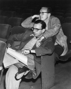 Jack Benny and Irving Fine11-28-1952Photo by Gabi Rona - Image 0028_0064