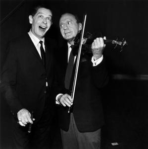 Jack Benny and Milton Berlecirca 1960s© 1978 Bud Gray - Image 0028_0366