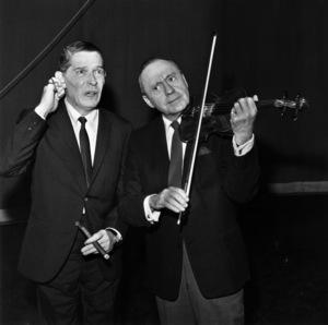 Jack Benny and Milton Berlecirca 1960s© 1978 Bud Gray - Image 0028_0367