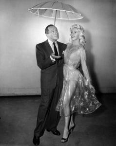 "Jack Benny and Jayne Mansfield on ""The Jack Benny Program""1950Photo by Gabi Rona - Image 0028_0877"
