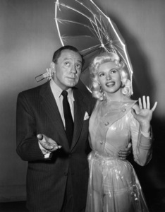 "Jack Benny and Jayne Mansfield on ""The Jack Benny Program""1950Photo by Gabi Rona - Image 0028_0893"