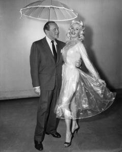 "Jack Benny and Jayne Mansfield on ""The Jack Benny Program""1950Photo by Gabi Rona - Image 0028_0894"
