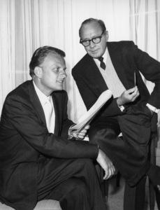Jack Benny, Billy Grahamcirca 1963Photo by Gabi Rona - Image 0028_0903