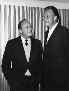 Jack Benny, Billy Grahamcirca 1963Photo by Gabi Rona - Image 0028_0904