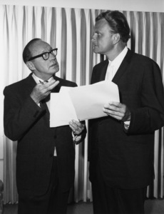 Jack Benny, Billy Grahamcirca 1963Photo by Gabi Rona - Image 0028_0905