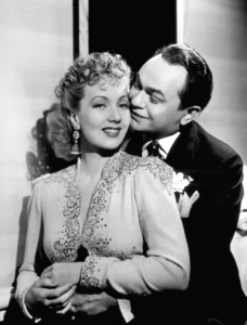 Ann Sothern, Edward G. RobinsonFilm Set/WarnerBrother Orchid (1940)Photo by George Hurrell0032285 - Image 0029_0593