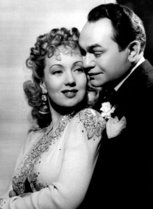 Ann Sothern, Edward G. RobinsonFilm Set/WarnerBrother Orchid (1940)Photo by George Hurrell0032285 - Image 0029_0795
