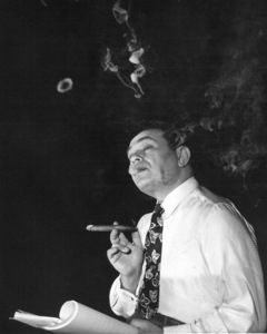 "Edwin G. Robinson behind the scenesof ""Key Largo.""1948 Warner Bros. - Image 0029_0814"