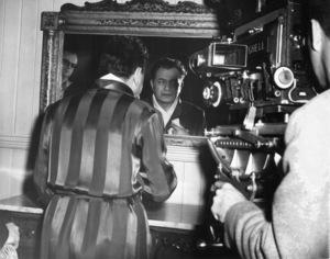 "Edward G. Robinson on the set of""Key Largo.""Photo by Mac Julian1948 Warner Bros. - Image 0029_0825"