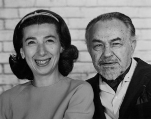 Edward G. Robinson and Jane, October 10, 1967. © 1978 Lou Jacobs Jr. - Image 0029_0829
