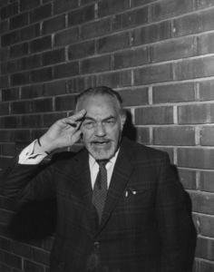 Edward G. Robinson, c. 1967. - Image 0029_0830