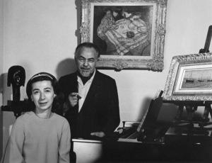 Edward G. Robinson and Jane, 1967. © 1978 Lou Jacobs Jr. - Image 0029_0832