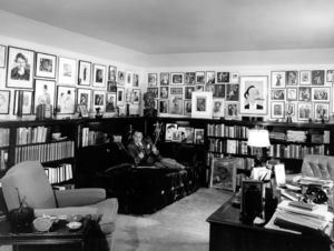 Edward G. RobinsonAt home in his study, 1946Copyright John Swope Trust / MPTV - Image 0029_0837
