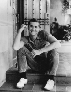 Anthony Perkins at home, 1965 © 1978 Chester Maydole - Image 0032_1003