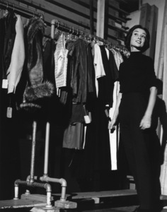 Audrey HepburnBackstage During a screen test,Los Angeles California1957 © 1978 Sid Avery - Image 0033_0019