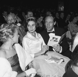 Audrey Hepburn and Mel Ferrer at the ballet1957© 1978 Sid Avery - Image 0033_0063