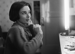 Audrey Hepburn at her dressing room mirror1957© 1978 Sid Avery - Image 0033_0093