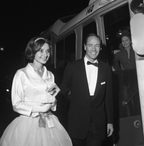 Audrey Hepburn and Mel Ferrer in Los Angeles1957 © 1978 Sid Avery - Image 0033_0099