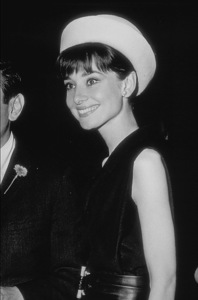 """Audrey Hepburn at a studio party to honor the filming of """"My Fair Lady"""" 1964 - Image 0033_0175"""