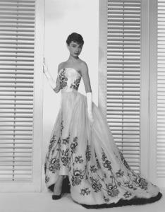 """Audrey Hepburn publicity photo for """"Sabrina"""" 1954.**I.V. - Image 0033_0209"""
