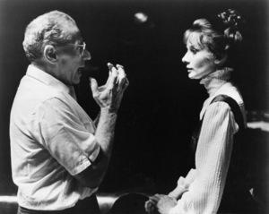 "Director George Cukor and Audrey Hepburn in ""My Fair Lady""1964 Warner - Image 0033_0301"