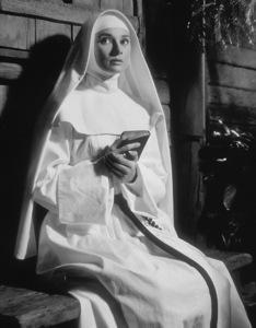"""Audrey Hepburn """"The Nun"""