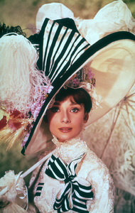 "Audrey Hepburn ""My Fair Lady""1964 WarnerPhoto by Cecil Beaton and Bert Six - Image 0033_1027"
