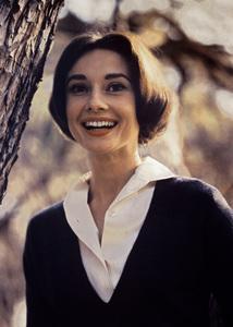 Audrey Hepburn in Los Angeles, California1957 © 1978 Sid Avery - Image 0033_1061