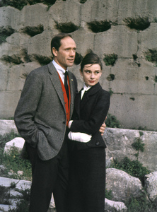 Audrey Hepburn and husband Mel Ferrer circa 1958 © 1978 Sanford Roth / A.M.P.A.S. - Image 0033_1126