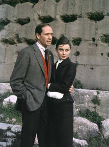 Audrey Hepburn and husband Mel Ferrer circa 1958 © 1978 Sanford Roth / A.M.P.A.S. - Image 0033_1126