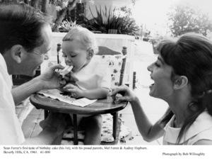Audrey Hepburn, Mel Ferrer, son Sean Ferrer, 1961. © 1978 Bob Willoughby - Image 0033_1135