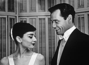 Audrey Hepburn and Mel Ferrercirca 1954 © 1978 Bill Avery - Image 0033_1143