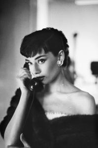Audrey Hepburn in Paramount Studios