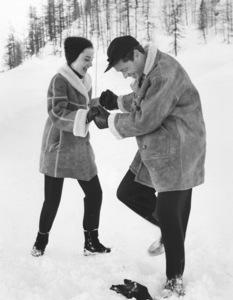 Audrey Hepburn and husband Mel Ferrer1959 © 1978 Sanford Roth / AMPAS - Image 0033_2240