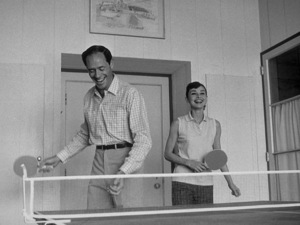 Audrey Hepburn and her husband Mel Ferrer at their rented Malibu abode c. 1957 © 1978 Bill Avery - Image 0033_2250