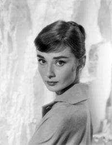 Audrey Hepburn, circa 1957. © 1978 Bud Fraker MPTV - Image 0033_2291