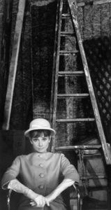 """Paris When It Sizzles""Audrey Hepburn1962 Paramount © 1978 Bob Willoughby - Image 0033_2324"