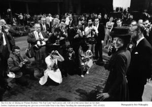 """My Fair Lady""Audrey Hepburn, Cinematographer Harry Stradling.1963 / Warner Brothers © 1978 Bob Willoughby - Image 0033_2331"