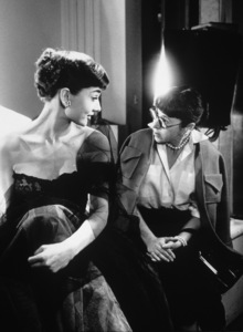 Audrey Hepburn meets designer Edith Head during her first photo shoot at Paramount1953© 1978 Bob Willoughby - Image 0033_2339