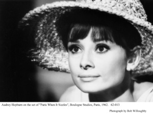 """Paris When It Sizzles""Audrey Hepburn1962 / Paramount © 1978 Bob Willoughby - Image 0033_2353"