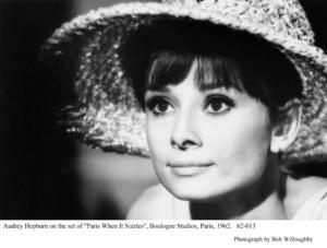 """Paris When It Sizzles""Audrey Hepburn1962 / Paramount © 1978 Bob Willoughby - Image 0033_2353"