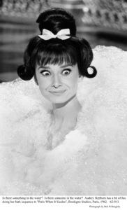 """Paris When It Sizzles""Audrey Hepburn1962 / Paramount © 1978 Bob Willoughby - Image 0033_2355"