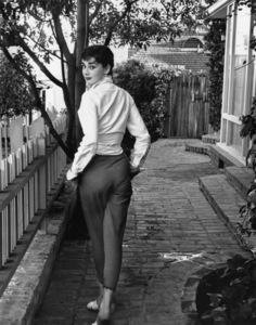 Audrey Hepburn 1953© 2000 Mark Shaw - Image 0033_2381
