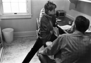 "Audrey Hepburn during the filming of ""Sabrina"" 1953© 2000 Mark Shaw  - Image 0033_2396"