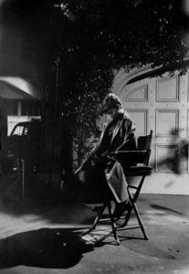 """Audrey Hepburn on the set of """"Sabrina"""" 1953© 2000 Mark Shaw  - Image 0033_2398"""