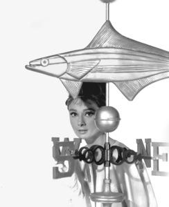Audrey Hepburn, c. 1955.Photo by Bud Fraker**I.V. - Image 0033_2433