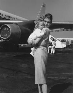 Audrey Hepburn & son SeanC. 1961**I.V. - Image 0033_2452